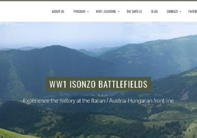 Isonzo Battlefields Great Journey (28-4-2018 / 5-5-2018)